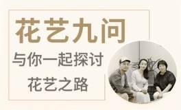 【白书芳丨花艺九问】学习花艺的9大问题