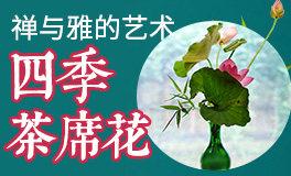 【四季插花】枫叶的四季茶席花