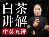 『茶学硕士的中英双语微课·白茶篇』每天5分钟,让世界听懂中国茶!
